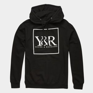NEW YOUNG & RECKLESS TRADEMARK BOX MENS HOODIE
